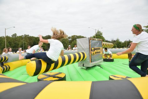 Annual Talon Tailgate Delivers Wipeout, Food Trucks, and Color Splash