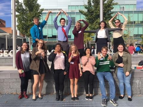 Student Tutors Visit Annual CAPTA Conference