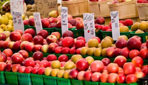 Annual Fredericksburg Farmer's Market Returns