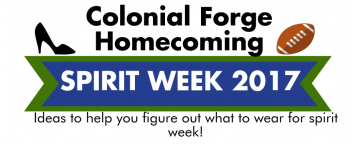 Colonial Forge Spirit Week