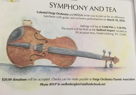 Forge Orchestra's Symphony and Tea Event Cancelled