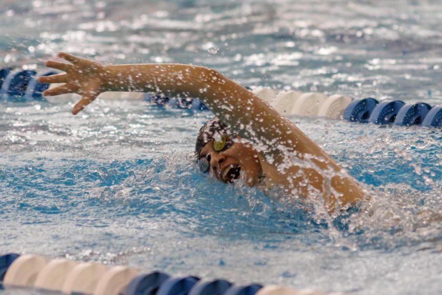 Waisanen (19) swimming