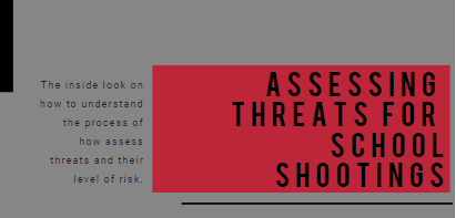 Assessing Threats For School Shootings