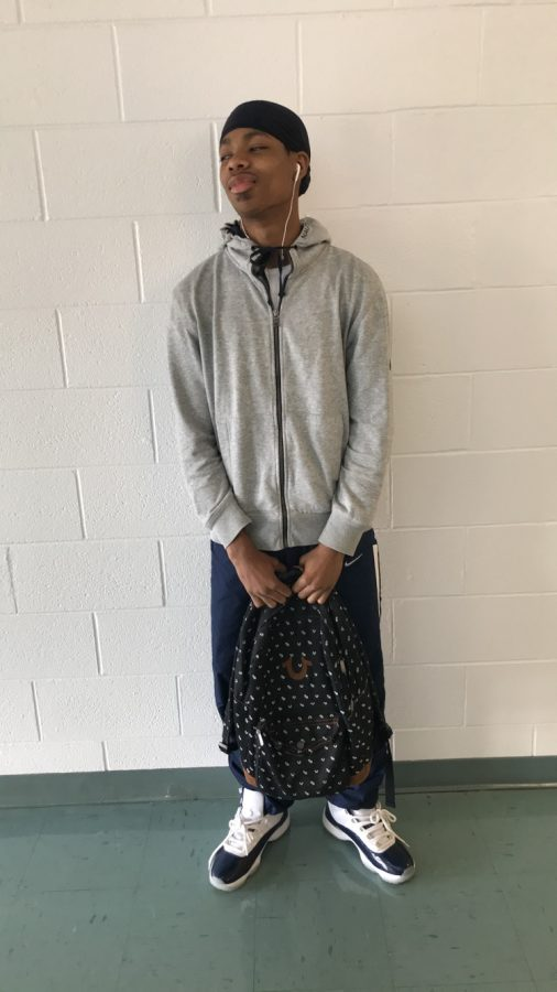 Myles Flood's True Religion bag cost $75. He said he chose that bag because it was a bag that not many people would get, and he could stand out.