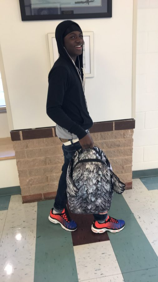 Alijah Robinson got his bag at Against All Odds for $80. He said he got the bag