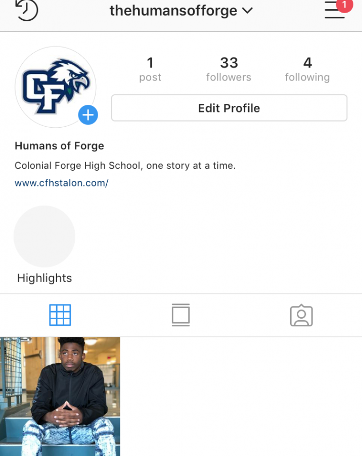 This is the new instagram @thehumansofforge, @humansofforge is no longer the account.