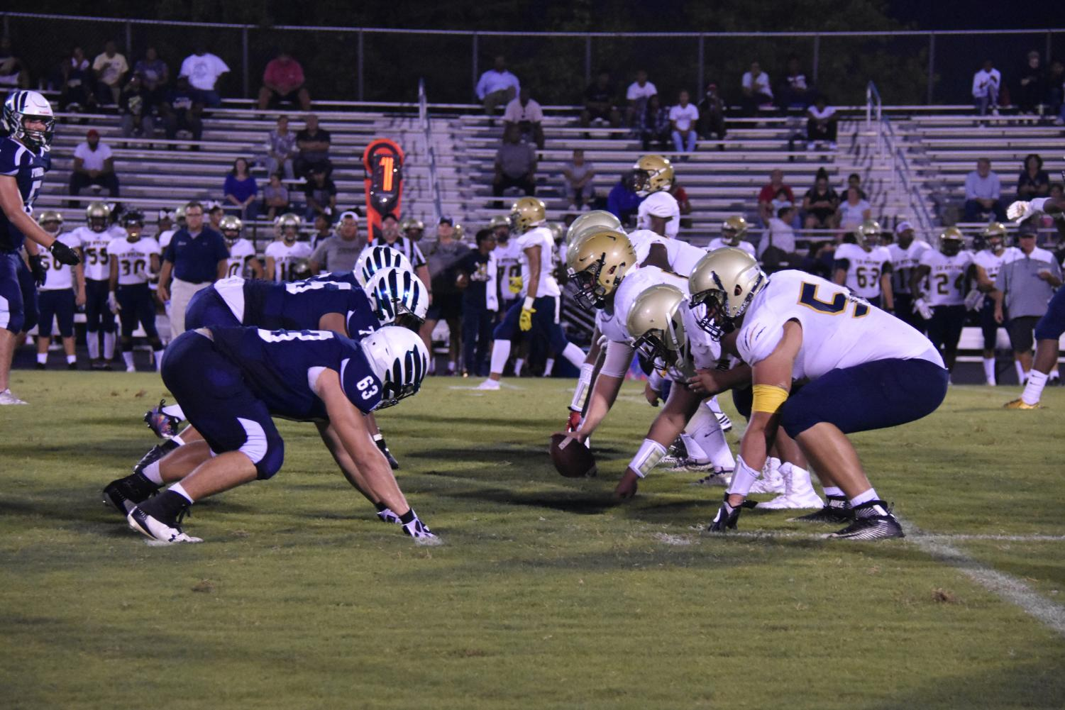 Varsity Football vs Hylton.