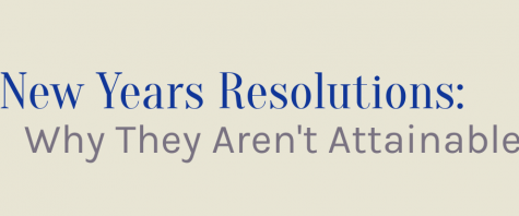 New Years Resolutions: Why They Aren't Attainable