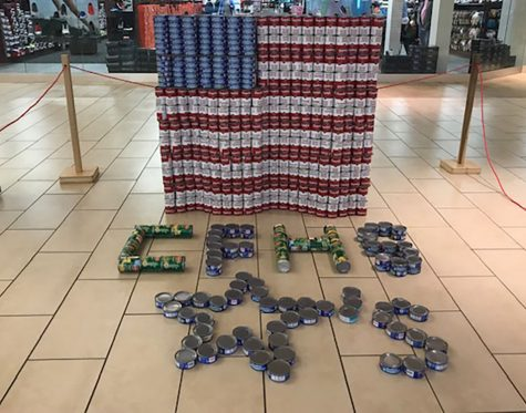 Learn & Serve Collecting Cans For Canstruction