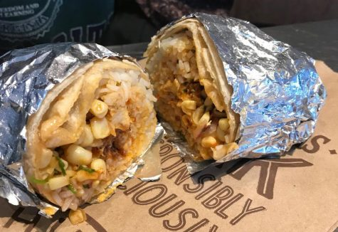 The chicken burrito from Chipotle, which received a final rating of 3 out of 5.