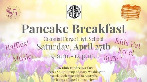 Leo Club Pancake Breakfast: Saturday April 27