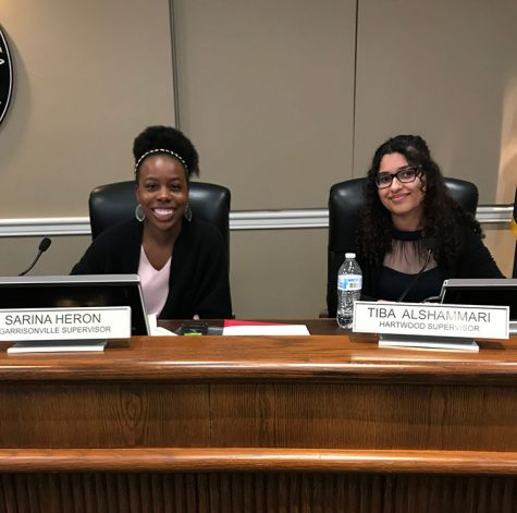 Heron ('19) and Alshammari ('19) Participate In Student Government Day