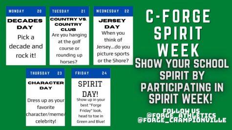 Guide to Spirit Week.